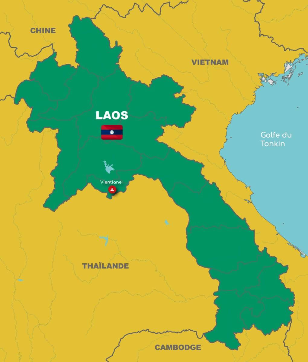 Laos-carte-generale